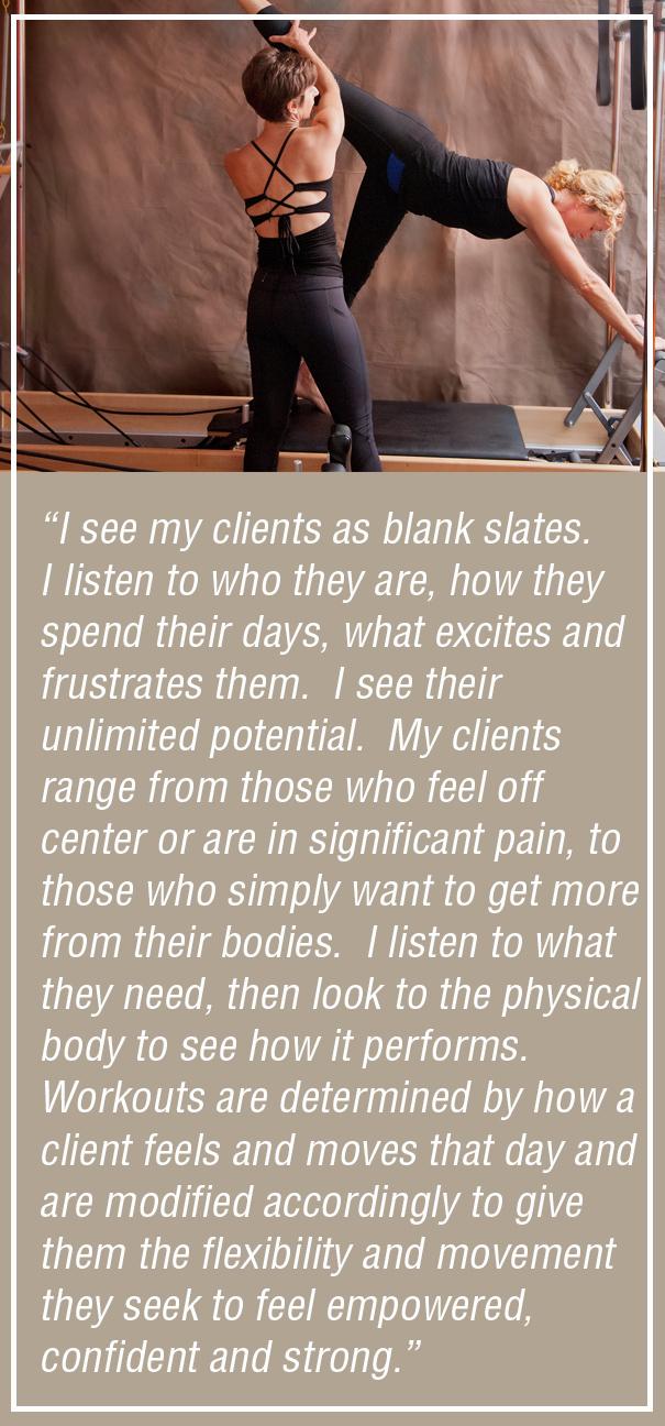 Deana Blackman Rhythm and Flow Pilates Quote